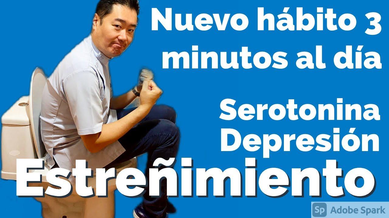 Rutina de ejercicio: Limpia intestinos y mejora la depresión!! Solo 3 min. al día!!!