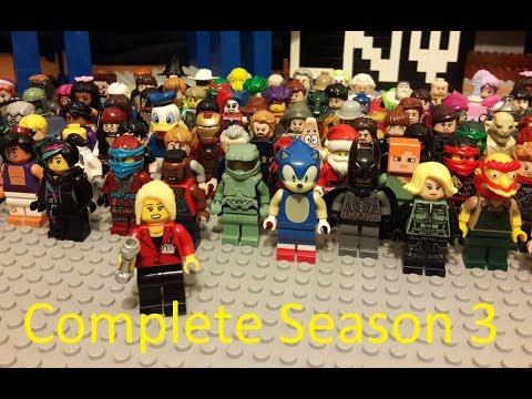Lego Ninja Warrior Complete Season 3