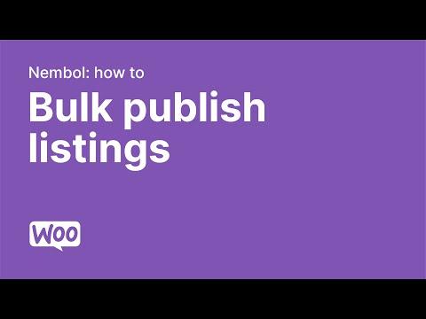 WooCommerce to eBay, Amazon, Etsy, Storenvy, Shopify, Prestashop, Facebook