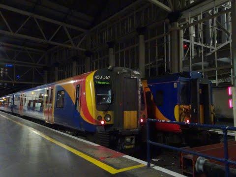 UK National Rail - Southwest Trains Compilation