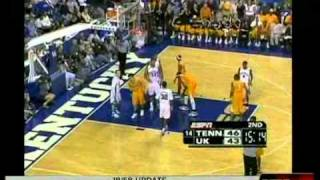 Tennessee Vols Beat Cats in Rupp 2005-2006 (ESPN) Bruce Pearl's First Season