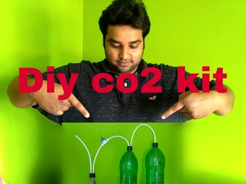 How to make  DIY co2 kit for planted aquarium in Hindi