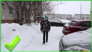 Урок по ПДД для детей   зима
