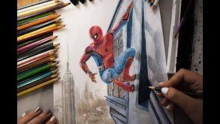 Рисуем! Человек-паук: Возвращение домой