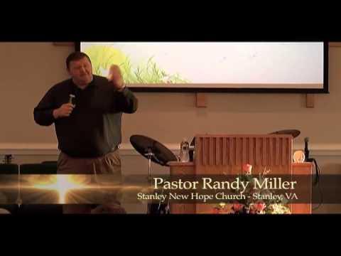 """A transforming encounter with Christ"" Senior Pastor Randy Miller"