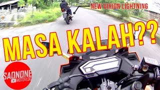 TEST DRAG 2017 CBR 150R VS NEW VIXION ( BACA DESKRIPSI )