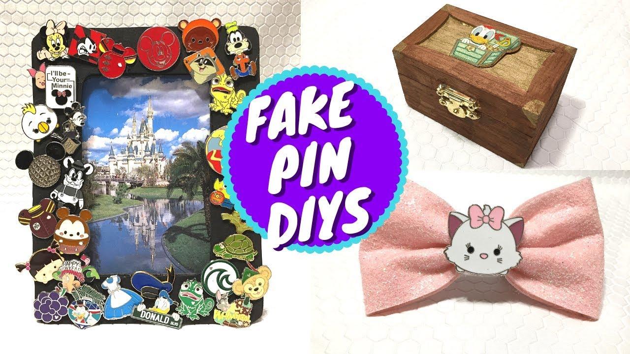 Easy Diy Crafts To Make With Fake Disney Pins