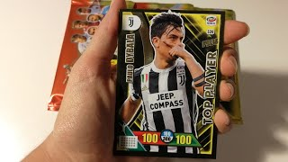 DYBALA TOP PLAYER! Apertura Calciatori Adrenalyn XL 2017-18