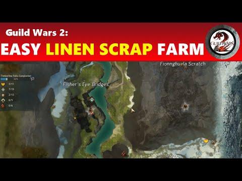 Guild Wars 2: Easy Linen Scrap Farming