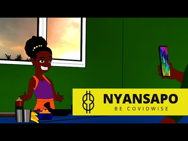Nyansapo - Be Covidwise - Episode 4 | Cartoon Series Ghana