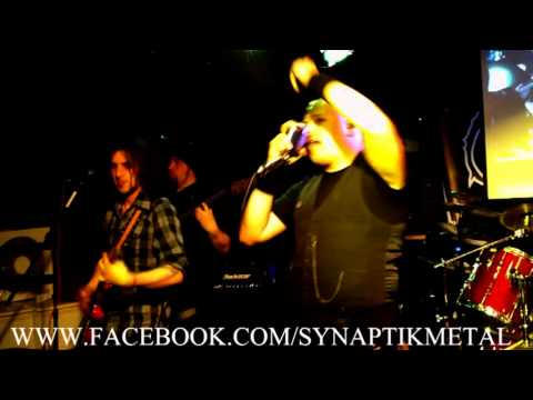 SYNAPTIK 'UTOPIA IN OUR EYES' LIVE at KING  EDDIE NORWICH JUNE - PROGRESSIVE MELODIC METAL
