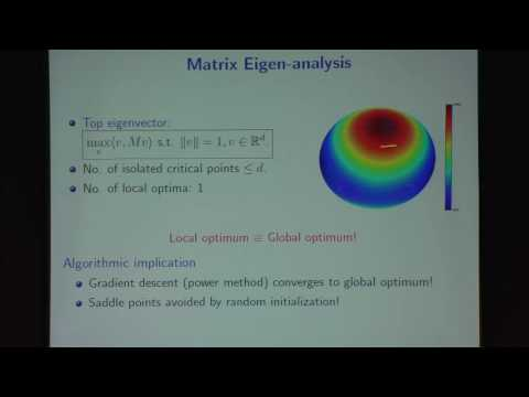 NIPS 2015 Workshop (Anandkumar) 15598 Non-convex Optimization for Machine Learning: Theory and ...