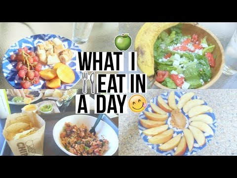 HOW TO BE HEALTHY | What I Eat In A Day!