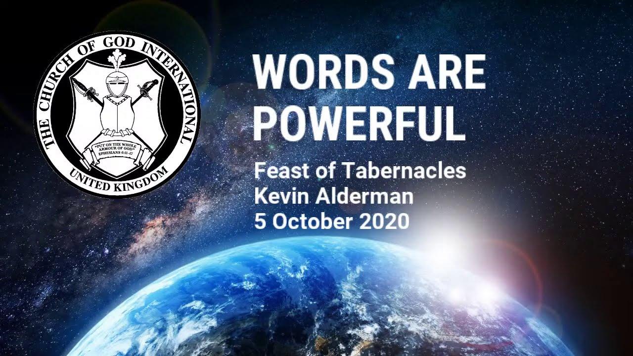 CGI UK - 5 Oct 2020 - FOT3 - Words Are Powerful - Kevin Alderman