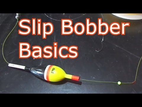 How To Rig FOUR Different Types Of Slip Bobber Stops