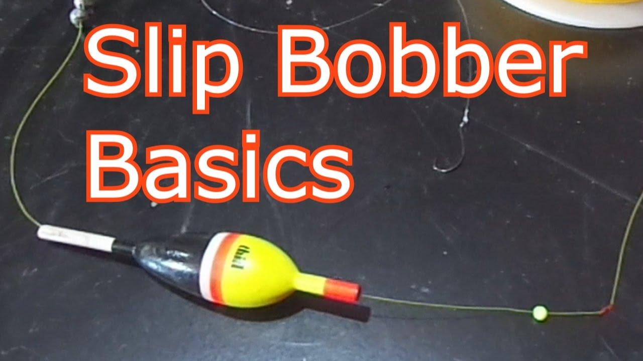 How to rig four different types of slip bobber stops youtube for Slip bobber fishing