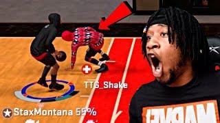 "TRASH TALKER GETS EXPOSED!! ""HIS MYPLAYER GOT INJURED"" 1v1 MYCOURT NBA 2K20"