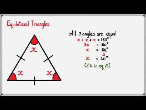 Angles in Equilateral Triangle