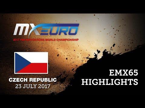 EMX65 Race1 - Round of Czech Republic 2017 - Highlights