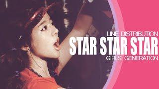 Star Star Star - Girls' Generation (Line Distribution)