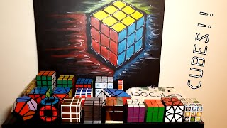 my rubik s cube collection   end of 2015
