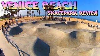 Skatepark Review: Venice Beach Skatepark - Venice, California
