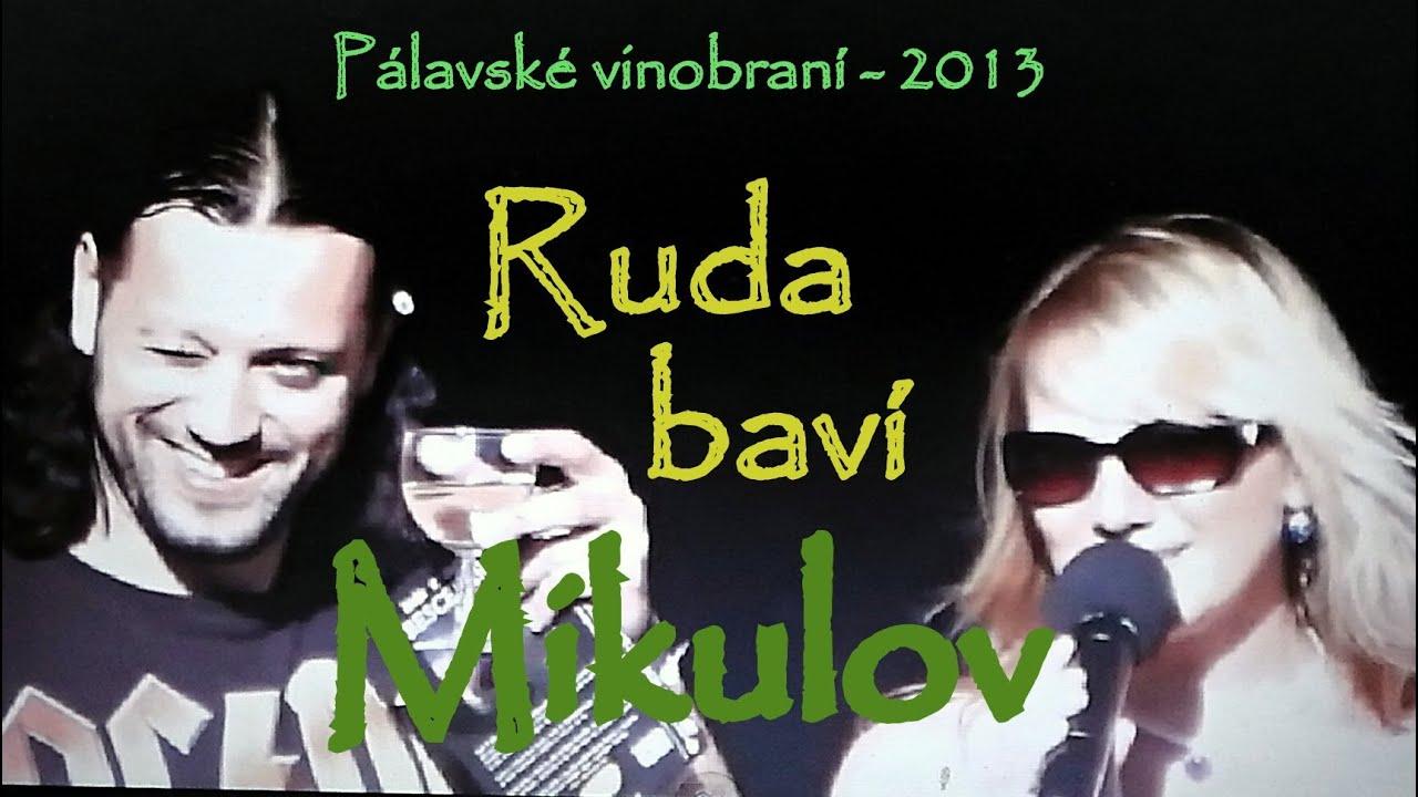 Ruda z Ostravy na vinobraní v Mikulově - Fúkaj to tam..makej ..makej...