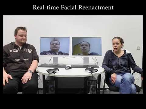 Real-time Expression Transfer for Facial Reenactment