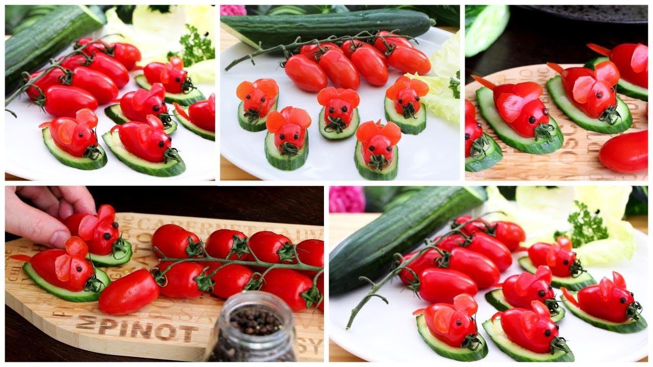 Super Salad Decoration Ideas - Easy Ideas Food Art