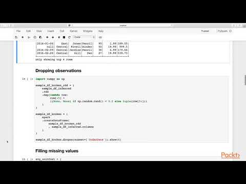 Learning PySpark: Schema Changes| packtpub com - YouTube