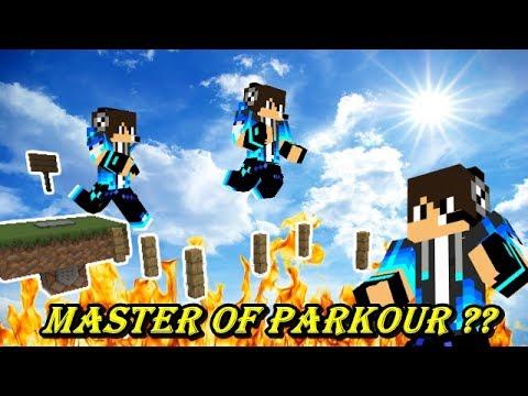 APAKAH TEGUH BISA MENJADI MASTER OF PARKOUR BERIKUTNYA ?? Minecraft Parkour Map
