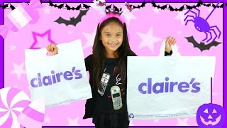 HUGE Claire's Haul Lip Balm Bonanza Fun Makeup Beauty Shopkins Accessories