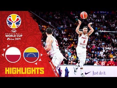 Poland v Venezuela - Highlights - FIBA Basketball World Cup 2019