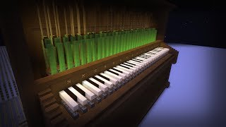 Marble Machine - Piano Version | Self-Playing Piano in Minecraft