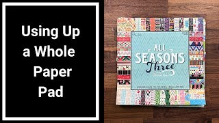 Using Up a Whole Paper Pad - New Kill a Pad Project Preview