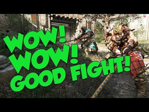 WOW! WOW! GOOD FIGHT! - For Honor Funny Moments + Mass Effect Andromeda Giveaway!