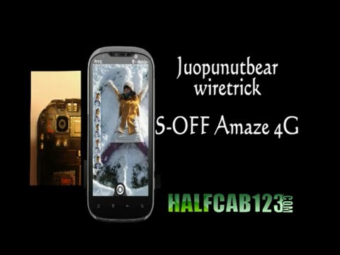 How to S-OFF T-Mobile HTC Amaze 4G [wire-trick method] EASY!