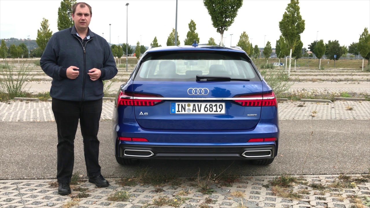 Der neue audi a6 avant 45 tfsi quattro review test for Lunghezza audi a6 avant 2016