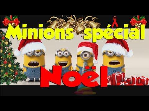 Les minions chantent no l youtube - Les minions noel ...