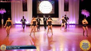 WSS16 Feb6. Amateur Large Team Salsa Showcase