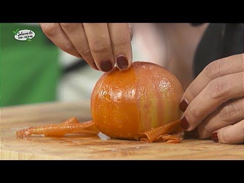 Truco: C�mo pelar f�cilmente un tomate