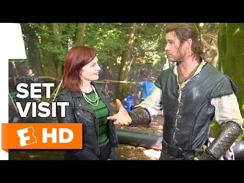 The Huntsman: Winter's War Set Visit (2016) - Emily Blunt, Charlize Theron Movie HD