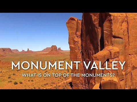 Monument Valley - Navajo Tribal Park in Utah, USA - 4K Ultra HD