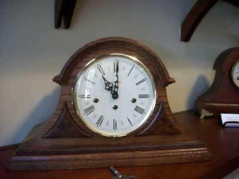 Manual for howard miller mantel clock