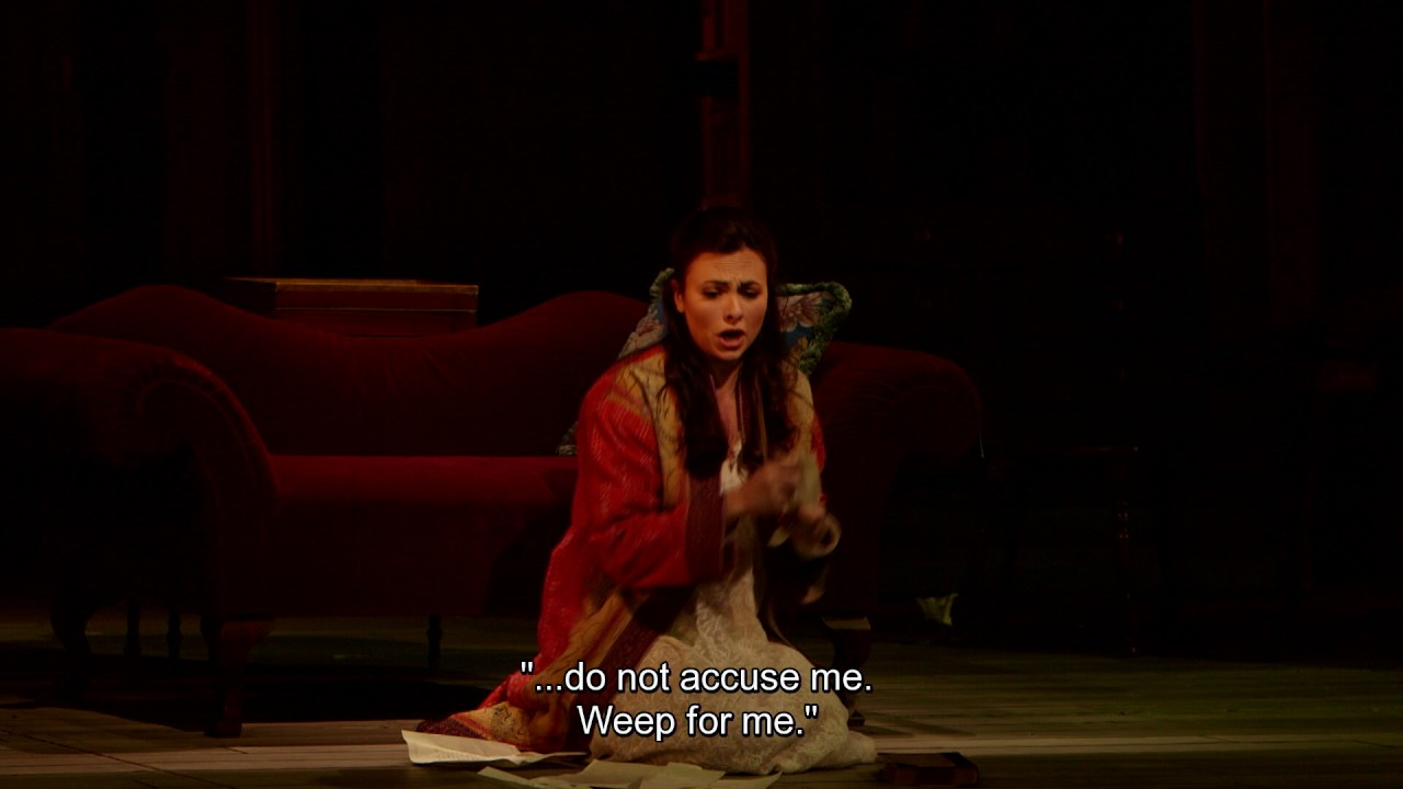Werther: Charlotte's Letter Scene
