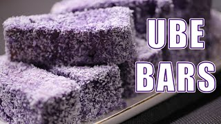 How to Make Ube Bars