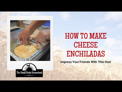 Easy Cheese Enchilada Recipe