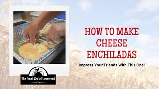 Easy Cheese Enchilada Recipe