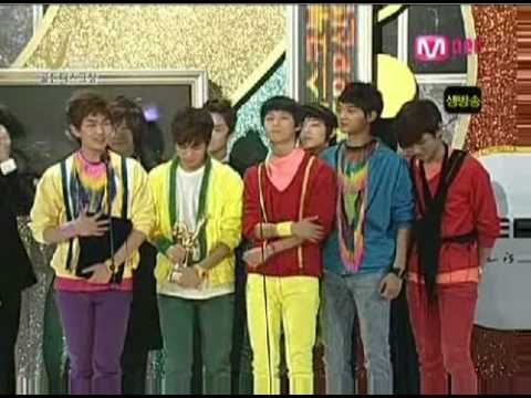 10122008 2008 Golden Disk Awards - SHINee won!!_by PanDyChan