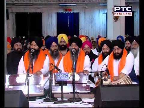 PTC News Live From Gurdwara Bangla Sahib Mahan Kirtan Darbar - 20 Feb 2015  Part - 2